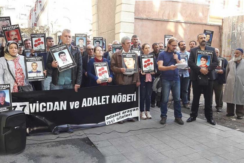 İşçi ailelerinin eylemine engelleme: Bu, bu ülkenin ayıbıdır