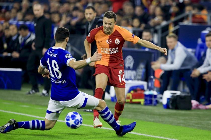 Galatasaray Şampiyonlar Ligi'nde Schalke'ye 2- 0 yenildi