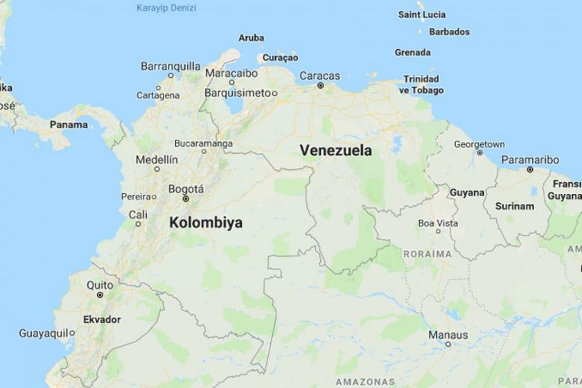 Kolombiya, sınır ihlali gerekçesiyle Venezuela'ya nota verdi