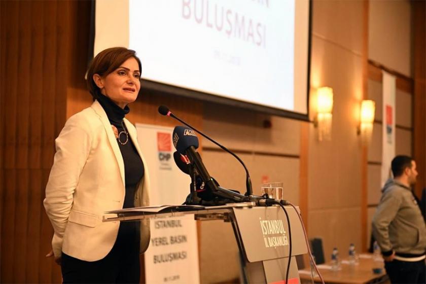 Canan Kaftancıoğlu: Tebliğ edilmeyen davanın sızdırılması manidar
