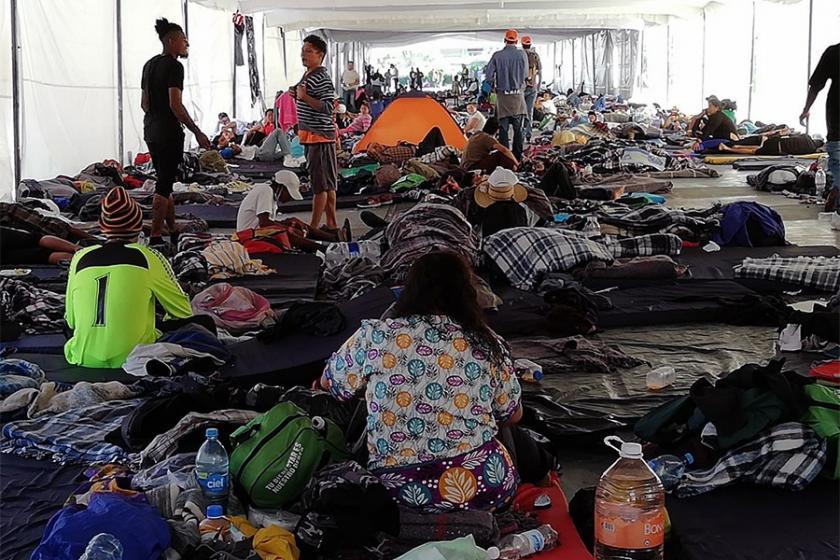 Göçmen karavanı: Miami'ye vardığımda seni arayacağım