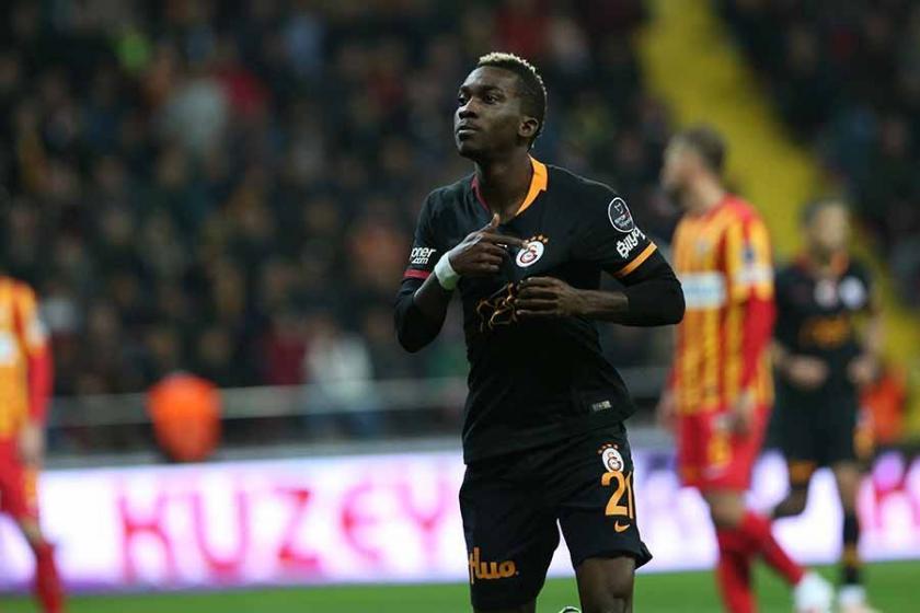 Eksik Galatasaray, Kayseri'de 3 puana 3 golle ulaştı