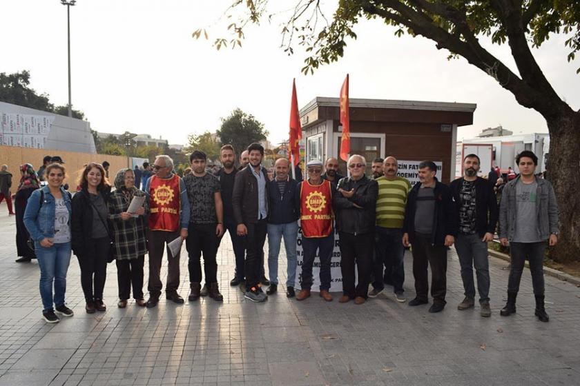 EMEP Gebze İlçe örgütü: Krizin faturasını ödemiyoruz