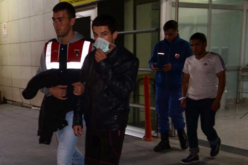Kayseri'de 116 mülteci zehirlenme şüphesiyle hastaneye kaldırıldı