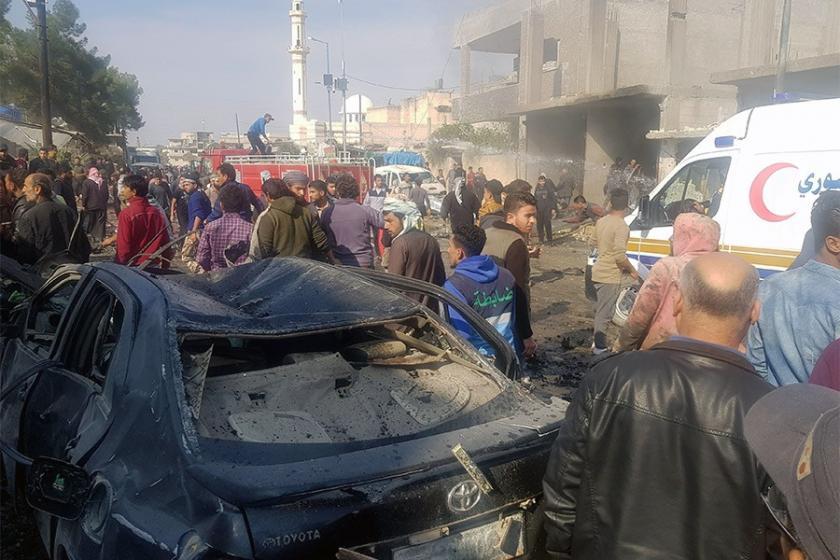 Cerablus'ta bombalı araç saldırısı