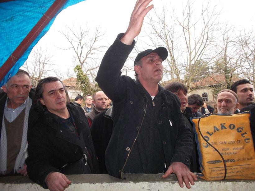 Sazköy halkından ÇED için gelenlere: Gidin buradan!