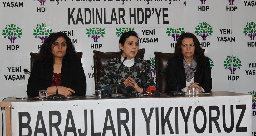 HDP kadınlara seslendi: Bu düzeni birlikte değiştirelim