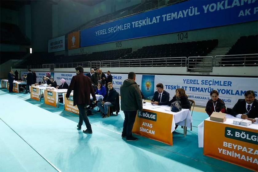 AKP'de temayül yoklaması