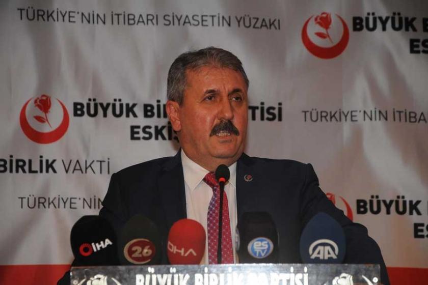 Destici'ye göre Kürt halkı yine HDP'ye oy verirse yine kayyım atanmalı