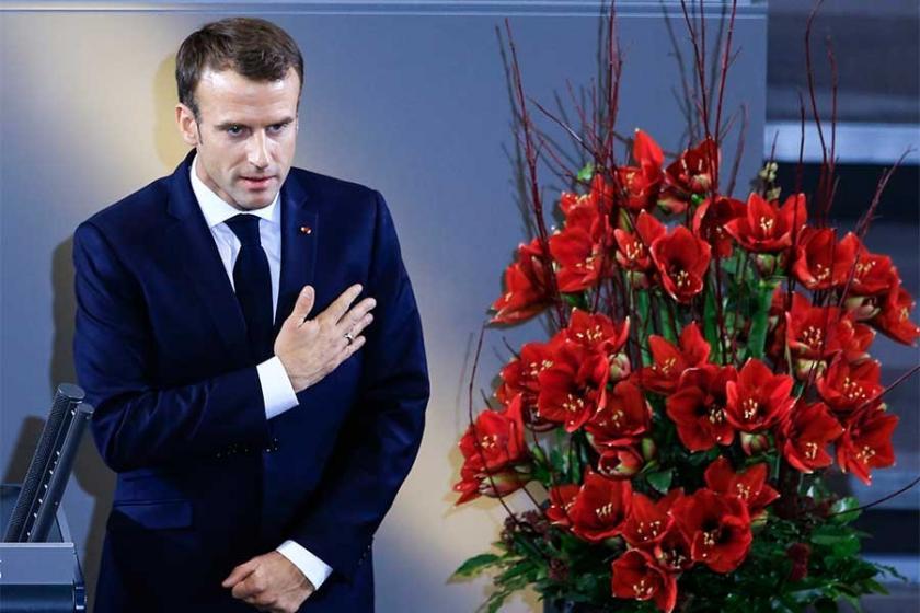 Macron'dan 'Güçlü Avrupa' mesajı