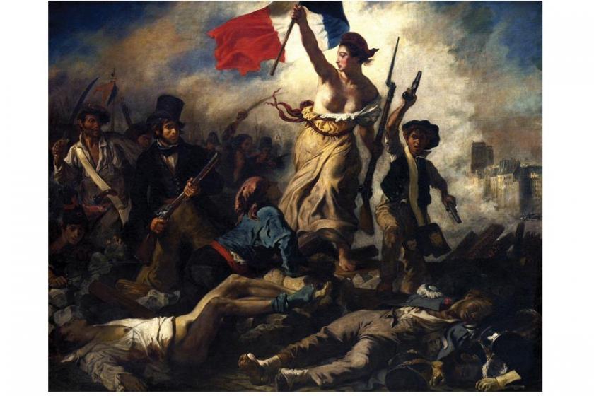 Halka yol gösteren özgürlük, hâlâ özgürlüğe koşuyor...