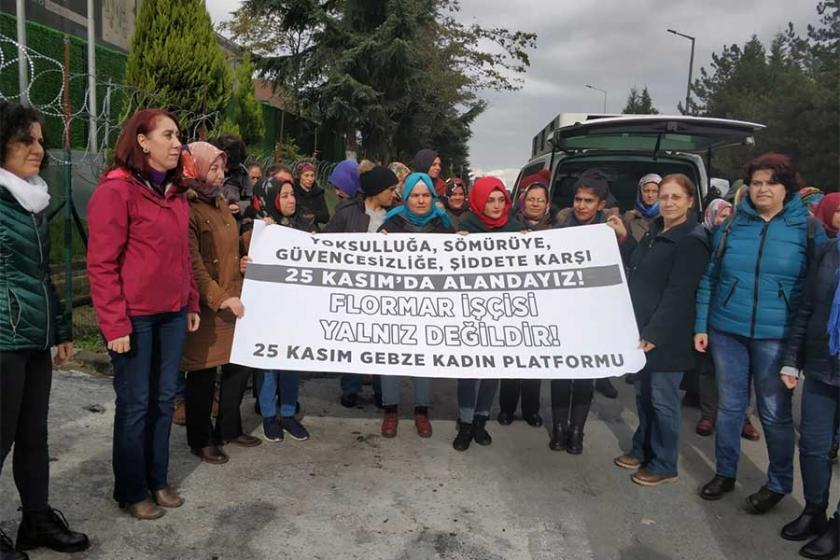 Flormar işçilerinden 25 Kasım çağrısı