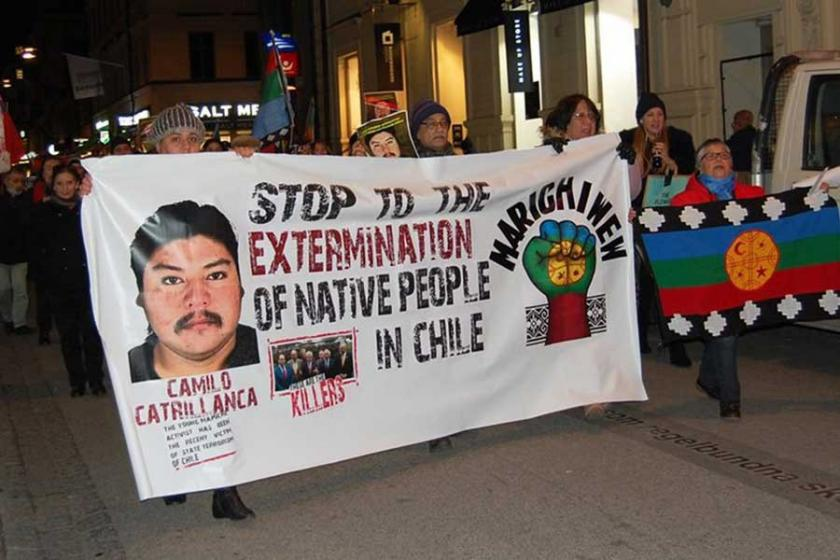 Şili'de Mapuçeler adalet için ayakta