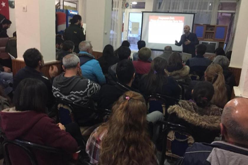 Emek Partisi Derince'de krizi tartıştı