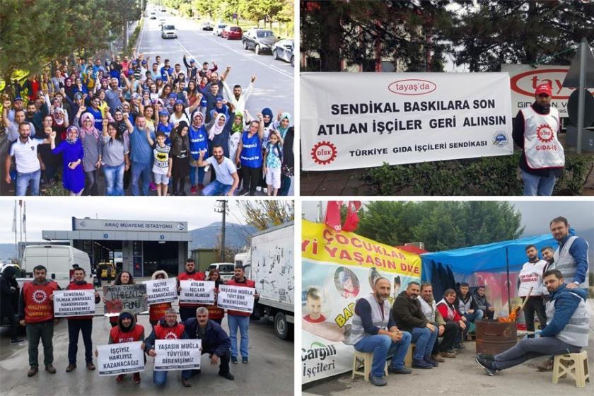 10 işyerinde sendikalaşma mücadelesi 1 işyerinde grev devam ediyor