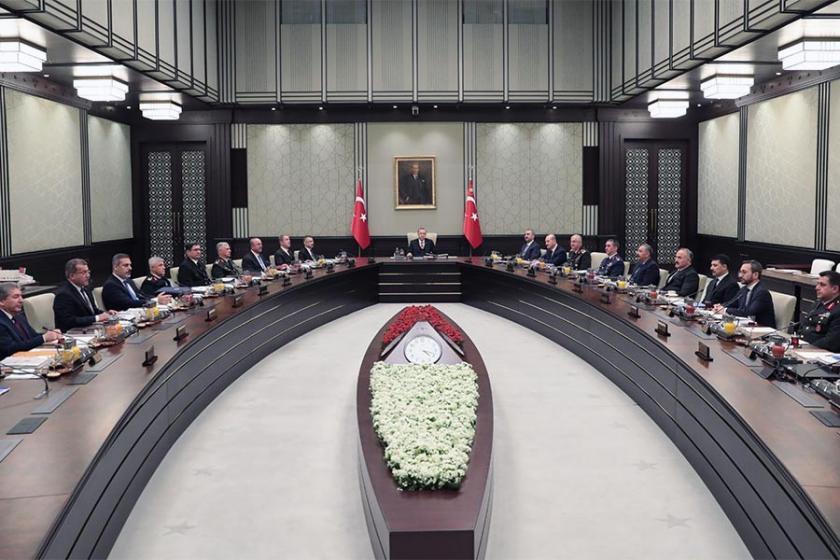 MGK toplantısı sona erdi: YPG Suriye'deki siyasi çözüme tehdit