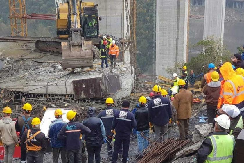 3 kardeşten biri viyadük inşaatında hayatını kaybetti