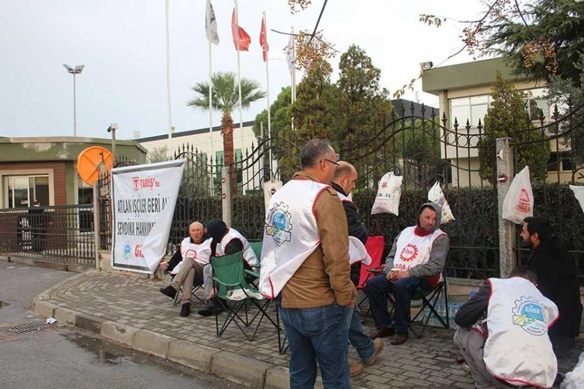 TARİŞ işçileri: İyi bir ücret alabilmek için tek şansımız örgütlenmek
