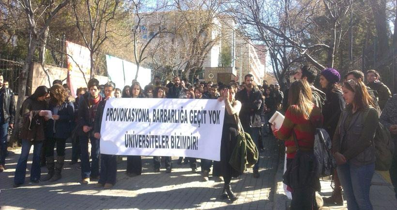AÜ öğrencileri: Yapılan saldırılar planlı