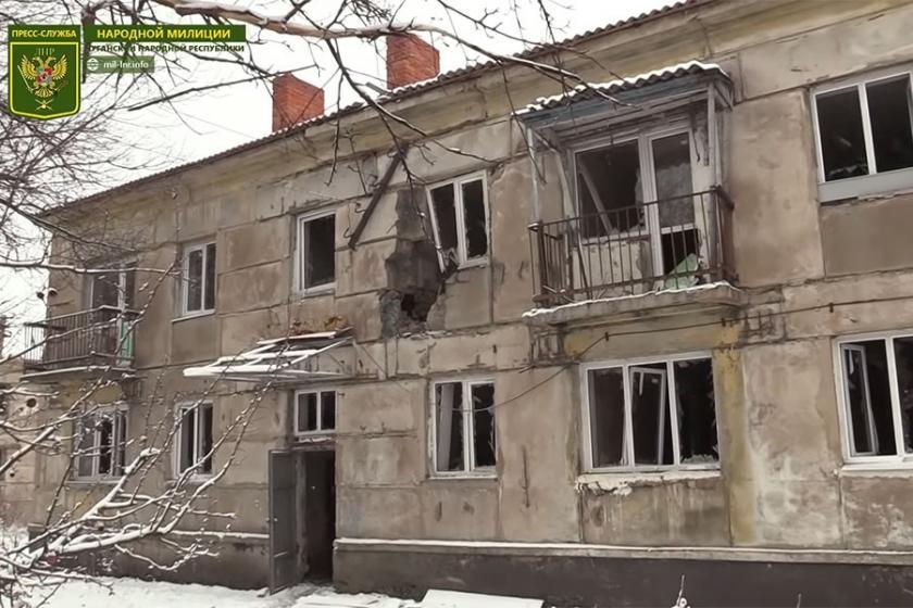 Ukrayna Ordusu, Lugansk'a yönelik ateşi kesmiyor