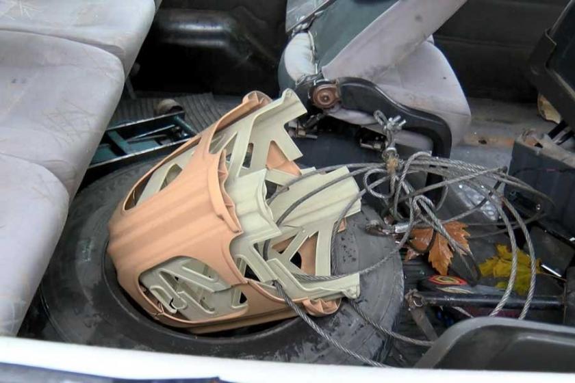 Kaza yapan işçi servisine tabureyle ek yolcu alınmış