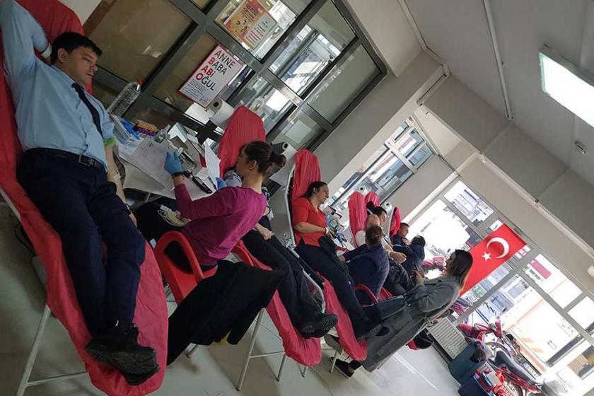 Lüleburgaz'da Öykü Arin için kök hücre bağışı