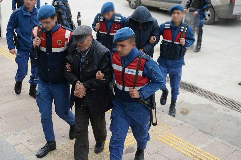 Sit alanında kaçak kazı yapan 9 kişi tutuklandı