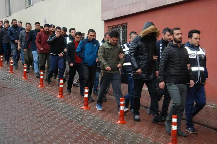 Ankara ve İzmir merkezli 'FETÖ' operasyonlarında 149 gözaltı kararı