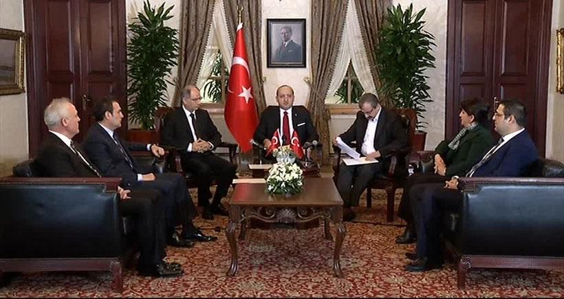 İmralı Heyeti ve Yalçın Akdoğan ortak açıklama yaptı