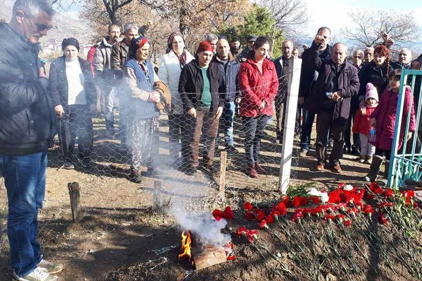Ali Tütmez mezarı başında anıldı