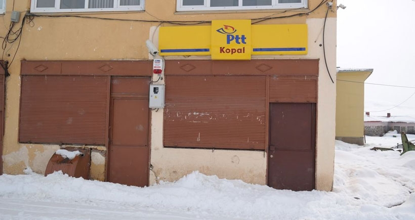 AKP'nin oy alamadığı mahallenin PTT'si kapatıldı