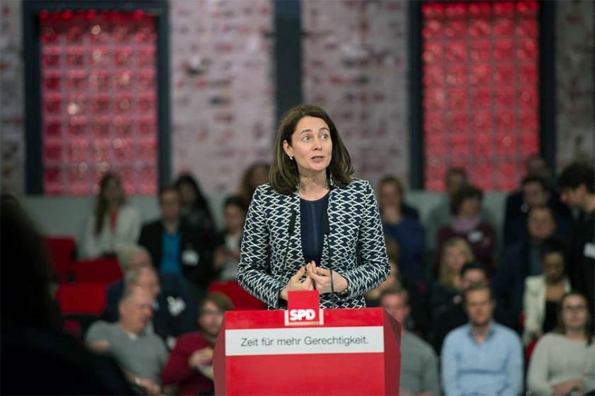 Barley, AP seçimlerinde SPD'nin liste başı adayı