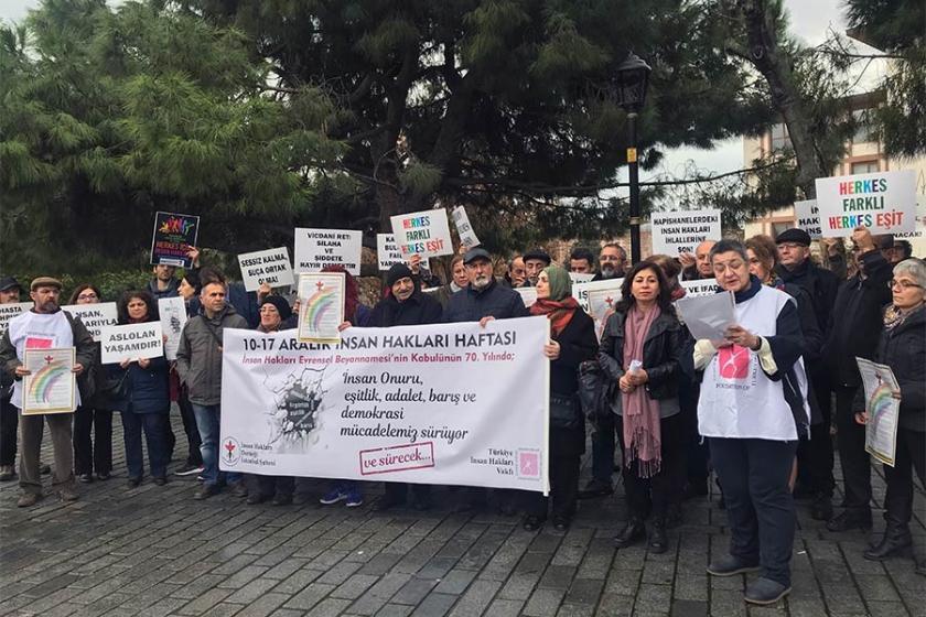 İnsan Hakları Haftası eylemleri: İnsan hakları araçsallaştırıldı