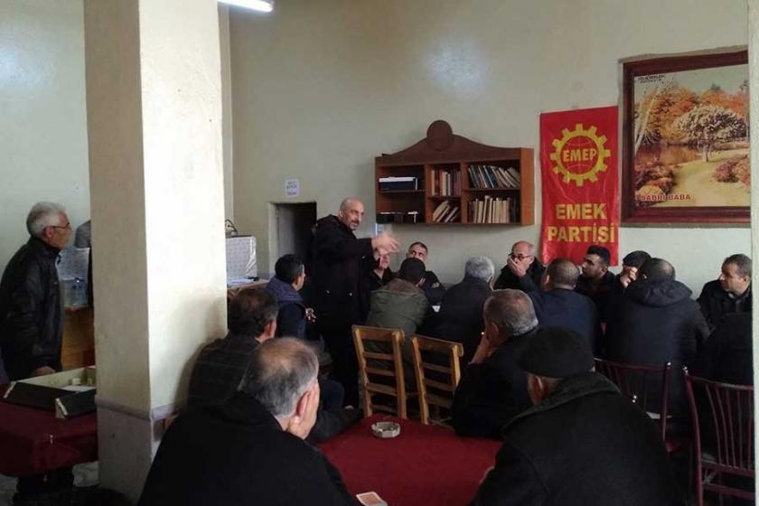 Antep'te işçiler, krizin yüküne karşı mücadeleyi konuştu