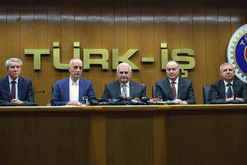 Binali Yıldırım'dan Atalay'a ziyaret: Türk-İş aynı çizgide durmaktadır