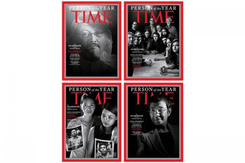 Time dergisinin 'yılın kişisi' unvanı Kaşıkçı'nın oldu