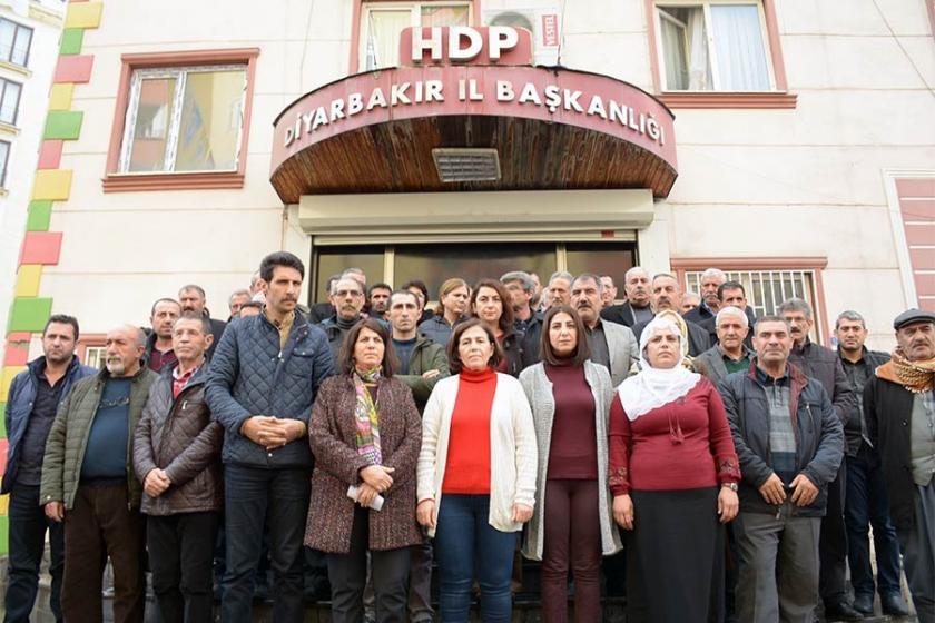 Güven'e destek eyleminde gözaltılar protesto edildi