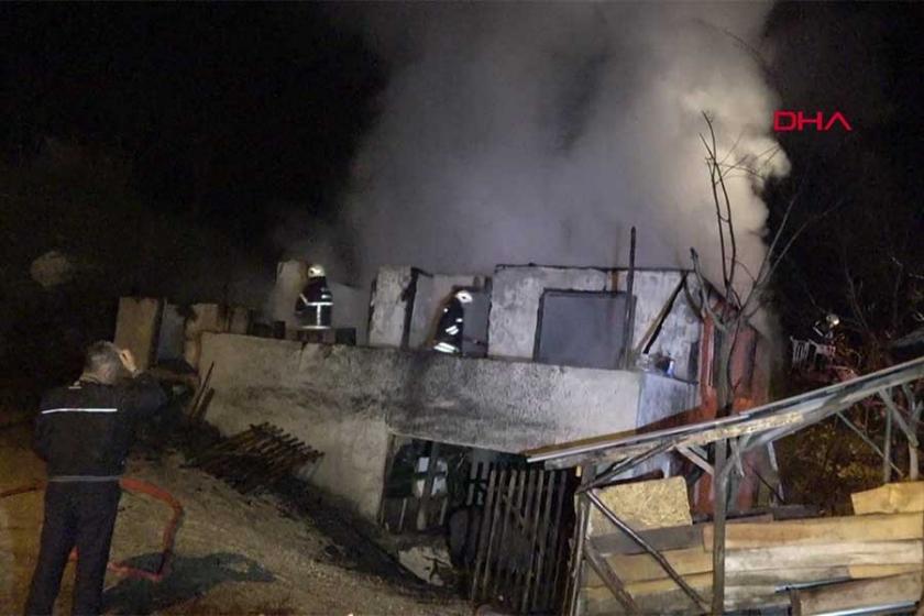 Düzce'de yangın: 3 çocuk hayatını kaybetti
