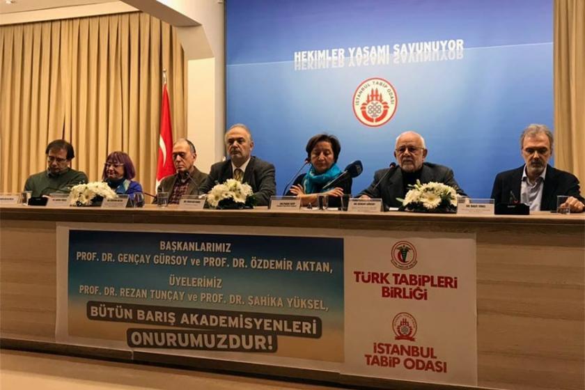 TTB ve İTO: Barışı savunmak suç değildir