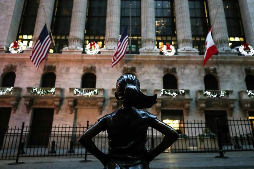 'Korkusuz Kız' artık New York borsasına karşı