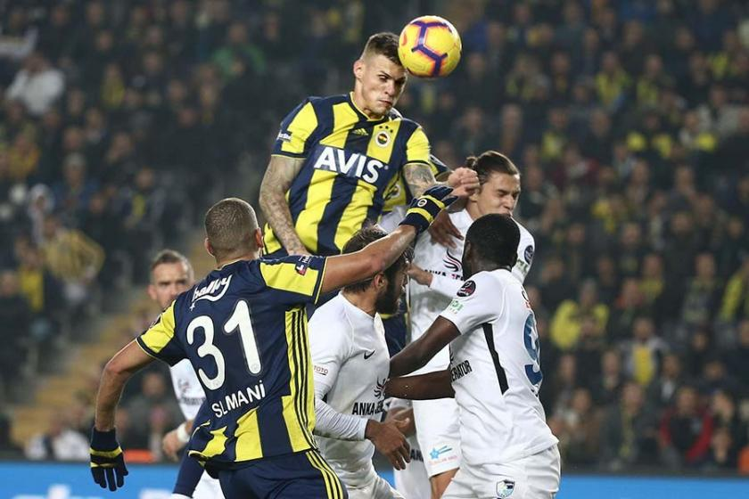 Fenerbahçe, Erzurumspor karşısında 2 farklı üstünlüğü koruyamadı: 2-2