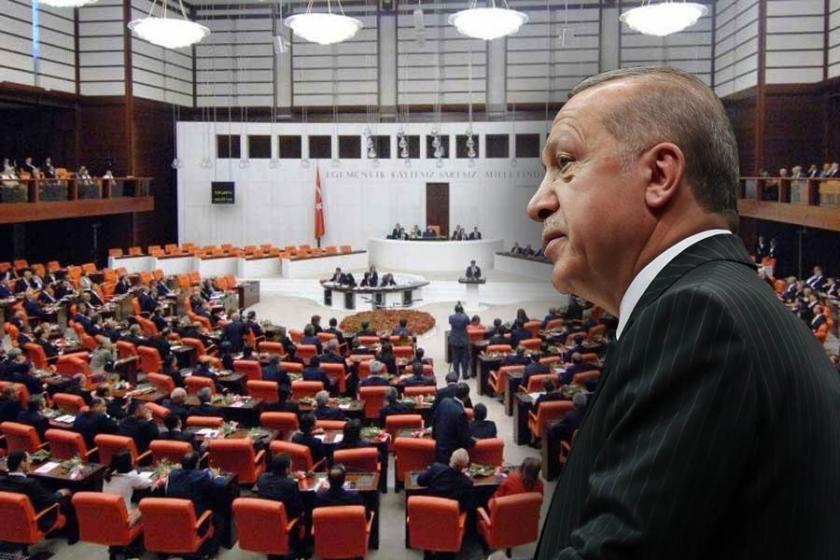 600 milletvekili 691 madde, Erdoğan 1915 madde çıkardı