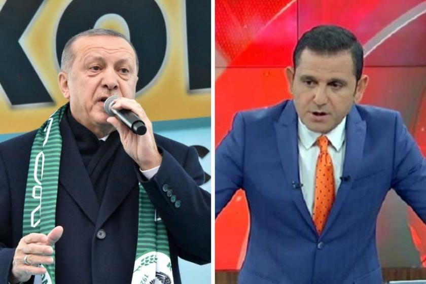 Portakal'ı hedef gösteren Erdoğan'a gazeteci örgütlerinden tepki