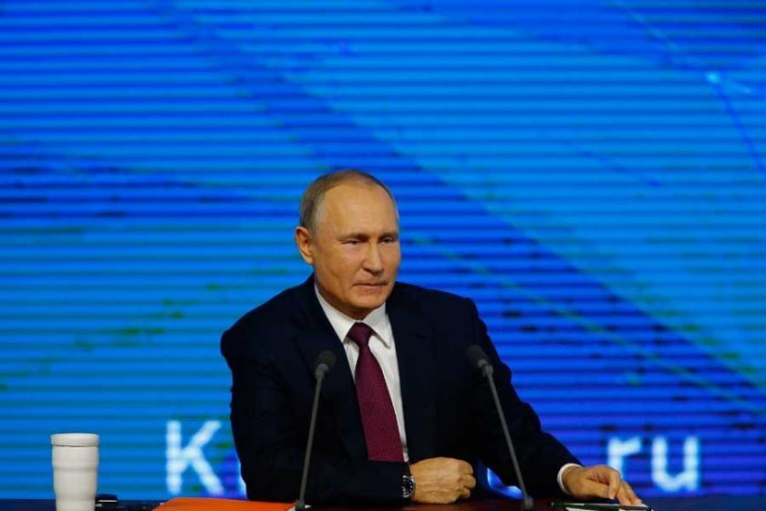 Putin'in Erdoğan'a yeni yıl mesajında Avrasya ve Suriye vurgusu