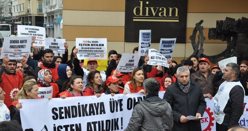 Divan işçileri: Bu daha başlangıç mücadeleye devam