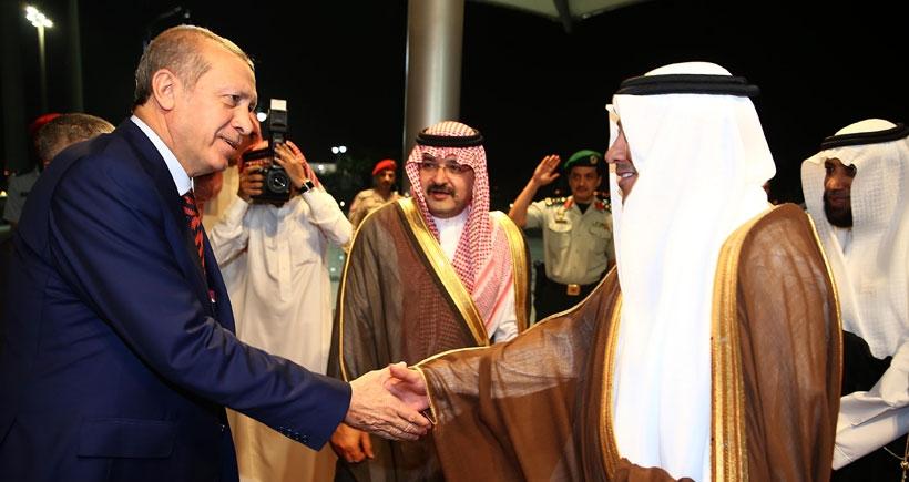 Erdoğan, Medine'ye geçti