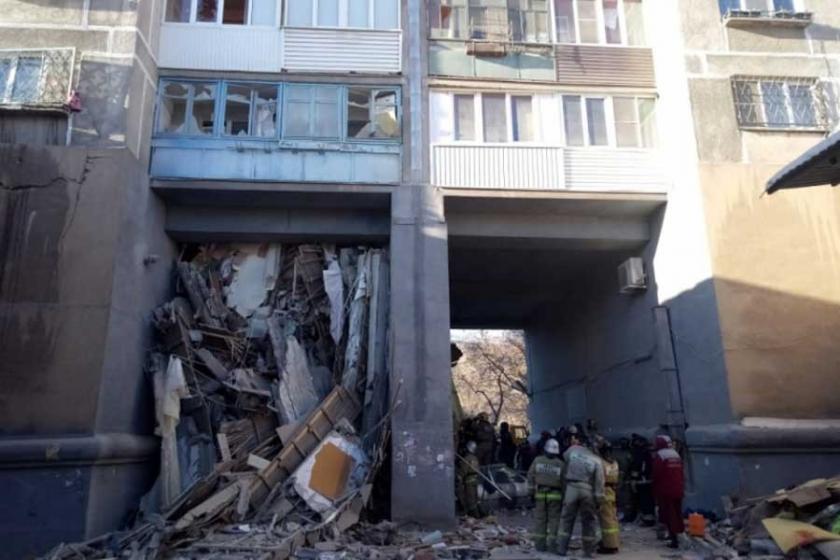 Rusya'daki doğal gaz patlamasında ölü sayısı 39'a yükseldi