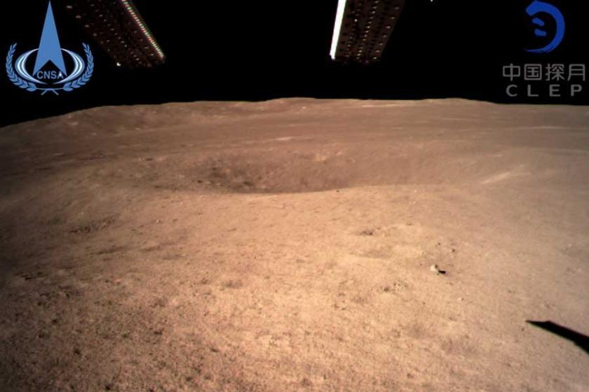 Çin'in uzay aracı, Ay'ın keşfedilmemiş bölümüne indi