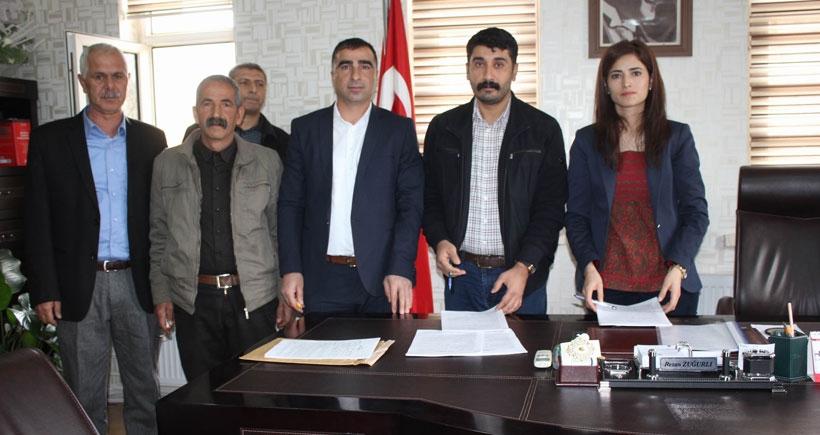 Lice Belediyesi'nde TİS imzalandı