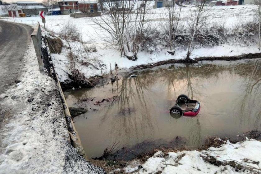 Tekirdağ'da otomobil dereye uçtu: 4'ü çocuk 8 kişi hayatını kaybetti